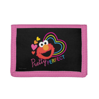 Elmo Pretty Perfect Trifold Wallet