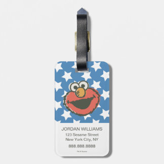 Elmo Retro 2 Luggage Tag