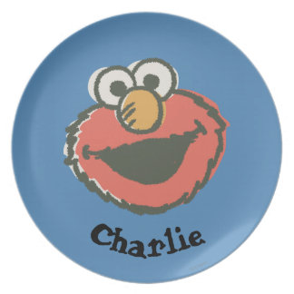 Elmo Retro | Add Your Name Plate