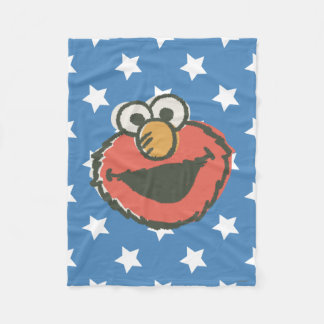 Elmo Retro Fleece Blanket