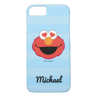Elmo Smiling Face | Add Your Name iPhone 8/7 Case