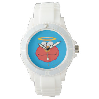 Elmo Smiling Face with Halo Wristwatches
