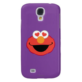 Elmo Smiling Face with Heart-Shaped Eyes Galaxy S4 Case