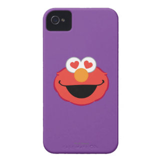 Elmo Smiling Face with Heart-Shaped Eyes iPhone 4 Case-Mate Case