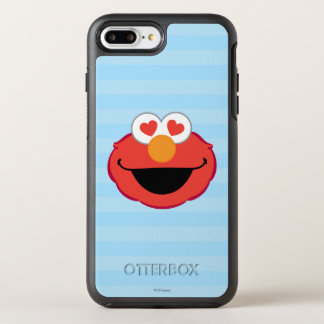 Elmo Smiling Face with Heart-Shaped Eyes OtterBox Symmetry iPhone 8 Plus/7 Plus Case