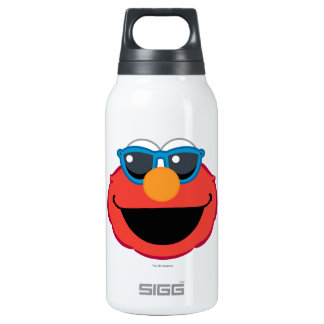 Elmo  Smiling Face with Sunglasses Insulated Water Bottle