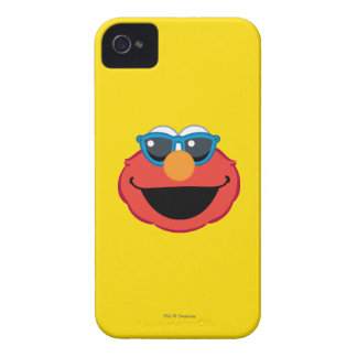 Elmo  Smiling Face with Sunglasses iPhone 4 Case-Mate Case