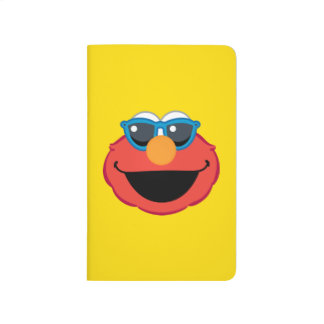 Elmo  Smiling Face with Sunglasses Journal