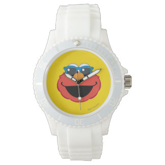 Elmo  Smiling Face with Sunglasses Watch
