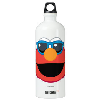 Elmo  Smiling Face with Sunglasses Water Bottle
