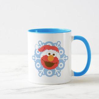Elmo Snowflake Mug