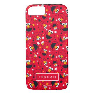 Elmo | So Silly Star Pattern | Add Your Name iPhone 8/7 Case