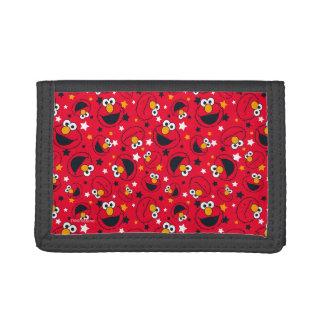 Elmo | So Silly Star Pattern Tri-fold Wallet