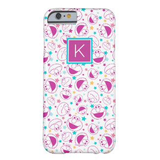 Elmo   Sweet & Cute Star Pattern   Monogram Barely There iPhone 6 Case