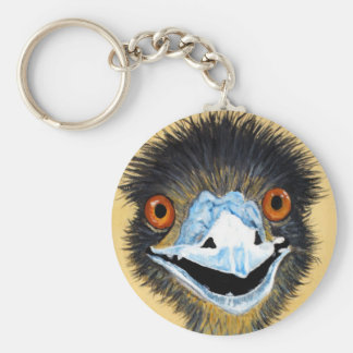 Elmo the Emu Key Ring
