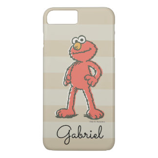 Elmo Vintage | Add Your Name iPhone 8 Plus/7 Plus Case