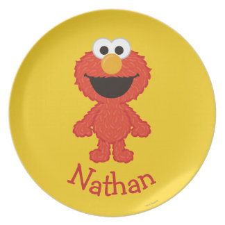 Elmo Wool Style | Add Your Name Plate