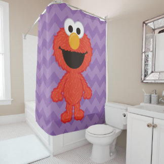 Elmo Wool Style Shower Curtain
