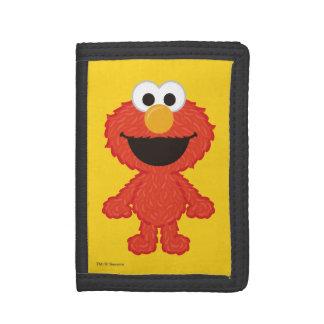 Elmo Wool Style Trifold Wallet