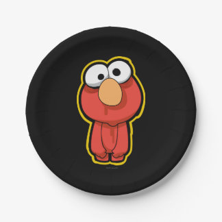 Elmo Zombie Paper Plate