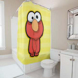 Elmo Zombie Shower Curtain