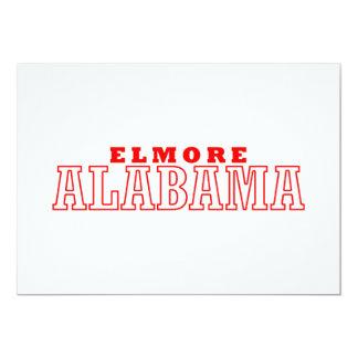 Elmore, Alabama 13 Cm X 18 Cm Invitation Card