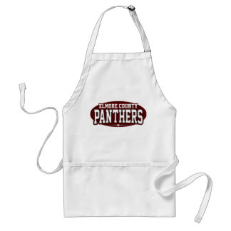Elmore County High School; Panthers Adult Apron
