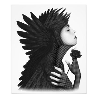 Eloa - The angel of sorrow and compassion Photo Print