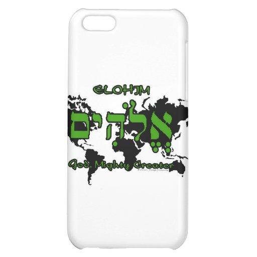 Elohim - God, Mighty Creator iPhone 5C Cover