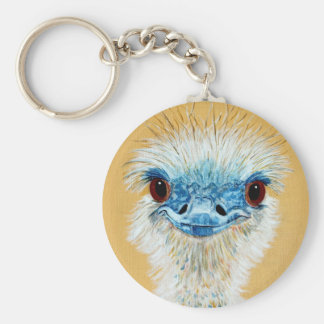 Eloise the Emu Key Ring