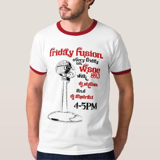 Elon WSOE's Friday Fusion T-Shirt