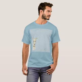 Elongated Dog Poodle Art Watercolor Rare T-Shirt