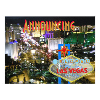 Elope Married in Las Vegas Announcement