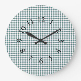 Eloquent-Blue-Diamond--Chic-Wail-Clocks Large Clock