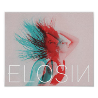 ELOSIN Two-Toned Wall Poster