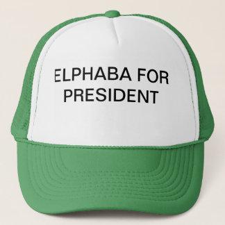 Elphie for Prez Trucker Hat