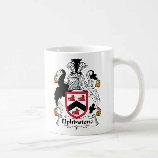 Elphinstone Family Crest Coffee Mug