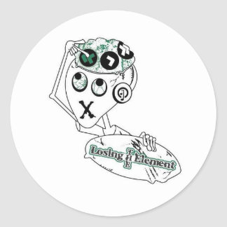elroy round sticker