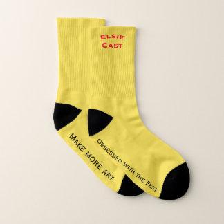 Elsie Cast logo socks 1
