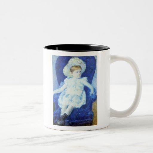 Elsie in A Blue Chair, Mary Cassatt Mugs