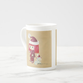 Elsie The Christmas Elfie Painting Tea Cup