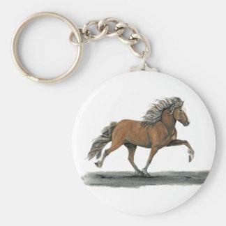 Elska Basic Round Button Key Ring