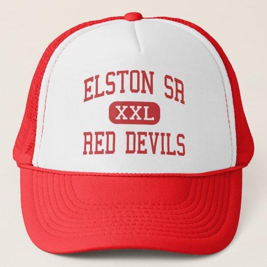 Elston Sr - Red Devils - High - Michigan City Cap