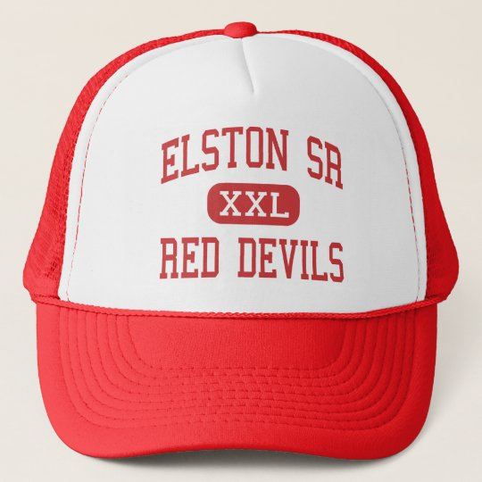 Elston Sr - Red Devils - High - Michigan City Trucker Hat