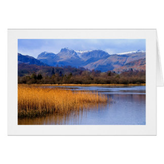 Elterwater and The Langdales, The Lake District Card