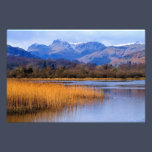 Elterwater and the Langdales, The Lake District Photo Print