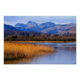 Elterwater, The Lake District Poster