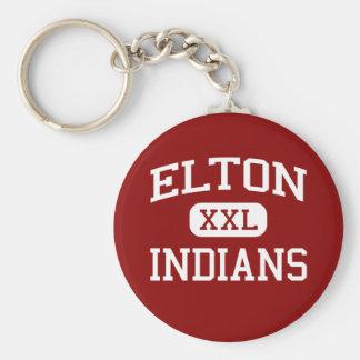 Elton - Indians - High School - Elton Louisiana Key Ring