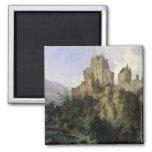 Eltz Castle Square Magnet