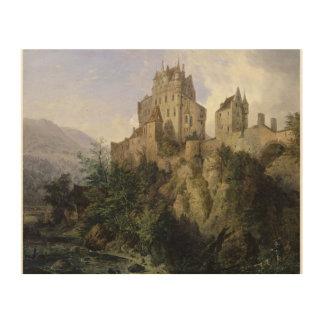 Eltz Castle Wood Wall Art